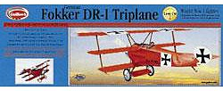 Guillows 1/14 Fokker DR-1 Triplane 20