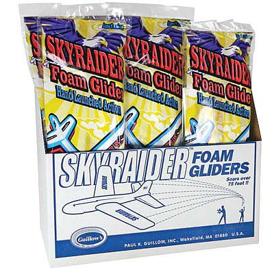 Guillows Sky Raider, 24'' Foam Glider Display (18)