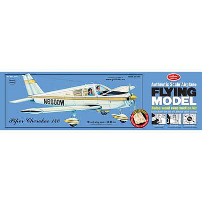 Guillows Model Kit Private Planes Model Cherokee