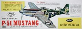 Guillows 27-3/4 Wingspan P51 Mustang Laser Cut Kit