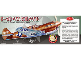Guillows Curtiss P40 Warhawk Laser Cut