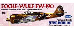 Guillows Focke-Wulf FW-190 16.5