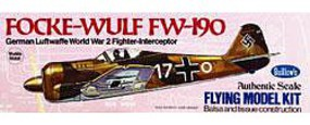 Guillows 16-1/2'' Wingspan Fw190 Kit