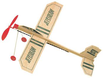 Guillows Balsa Airplane Jetstream