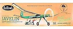 Guillows 24'' Wingspan Javelin Kit