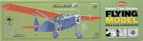 Guillows 25 Wingspan Fairchild 24 Laser Cut Kit
