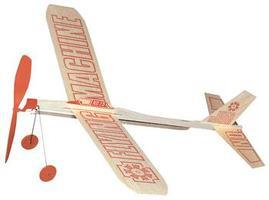 Guillows Flying Machine Glider Rubber Pwd