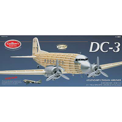 Guillows 35-1/2'' Wingspan DC3 Civilian Kit