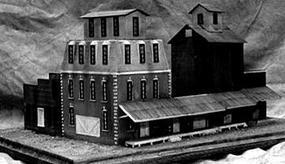 Guts Grimes mill complex HO-Scale
