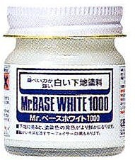 Gunze-Sangyo (bulk of 6) Mr. Base White 1000 40ml Bottle (6/Bx)