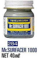 Gunze-Sangyo (bulk of 6) Mr. Surfacer 1000 40ml Bottle (6/Bx)