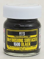 Gunze-Sangyo Mr. Finishing Surfacer 1500 Black 40ml Bottle (6/Bx)