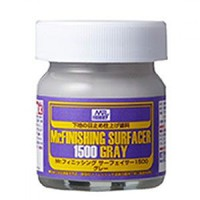 Gunze-Sangyo (bulk of 6) Mr. Finishing Surfacer 1500 Gray 40ml Bottle (6/Bx)