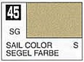 Gunze-Sangyo (bulk of 6) Solvent-Based Acrylic Semi-Gloss Sail Color 10ml Bottle (6/Bx)