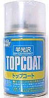 Gunze-Sangyo Mr. Top Coat Semi-Gloss 86ml (Spray)