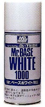 Gunze-Sangyo Mr. Base White 1000 180ml (Spray)