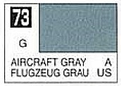 Gunze-Sangyo Solvent-Based Acrylic Gloss Aircraft Gray 10ml Bottle (6/Bx)