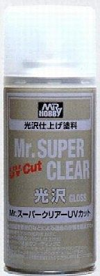 Gunze-Sangyo Mr. Super Clear UV Cut Gloss 170ml (Spray)