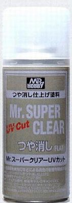 Gunze-Sangyo Mr. Super Clear UV Flat (Spray)