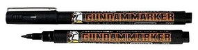 Gunze-Sangyo Mr. Hobby Gundam Marker Brush Type Black Hobby Craft Paint Marker #gm20
