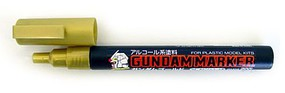 Gunze-Sangyo Mr. Hobby Gundam Marker Gold Hobby Craft Paint Marker #gm4