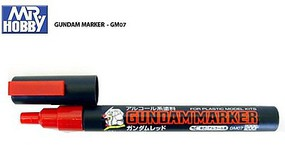 Gunze-Sangyo Mr. Hobby Gundam Marker Red Hobby Craft Paint Marker #gm7