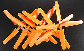 Grand-Wing 10x8 Prop 254x203mm 4-Blade Orange (6)