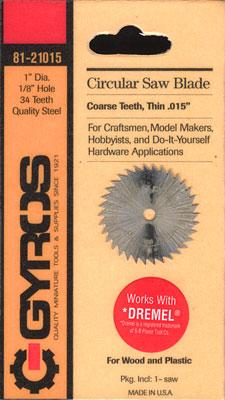 Gyros Products Co Coarse Circular 1'' Blade 1/8'' Hole