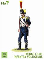 Hat French Light Infantry Voltigeurs Plastic Model Military Figure Set 28mm #28003