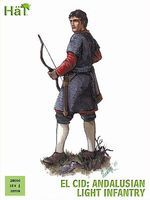 Hat Andalusian Light Infantry Plastic Model Military Figure Set 28mm #28006