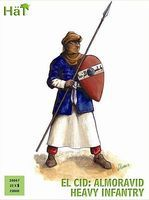 Hat El Cid Almoravid Heavy Infantry Plastic Model Military Figure Set 28mm #28007