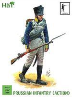 Hat Prussian Infantry Action Plastic Model Military Figure Set 28mm #28014