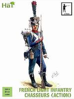Hat French Chasseurs Action Plastic Model Military Figure Set 28mm #28016