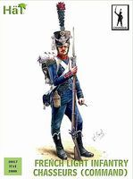 Hat French Chasseurs Command Plastic Model Military Figure Set 28mm #28017