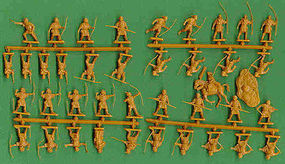 Hat 1/72 Robin Hood, Little John & Merry Men (40)
