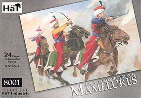 Hat French Mamelukes Plastic Model Military Figure Set 1/72 Scale #8001
