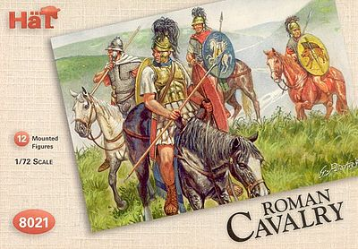 Hat Roman Calvary Plastic Model Military Figure Set 1/72 Scale #8021