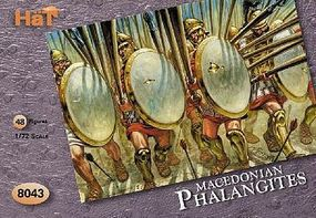 Hat Macedonian Phalangites Plastic Model Military Figure Set 1/72 Scale #8043