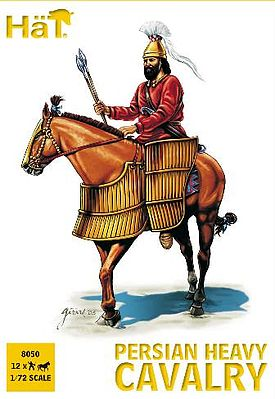 Hat Persian Heavy Calvary Plastic Model Military Figure Set 1/72 Scale #8050