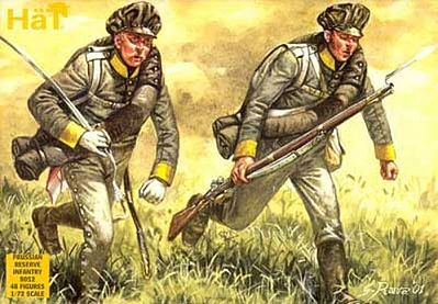HAT 1:72 NAPOLEONIC WARS PRUSSIAN UHLANS KIT #8005