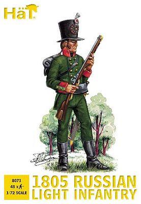 1805 Russian Light Infantry Plastic Model Military Figure