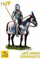 Hat Late Roman Cataphracts Plastic Model Military Figure Set 1/72 Scale #8086
