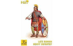 Hat Late Roman Heavy Infantry Plastic Model Military Figure Set 1/72 Scale #8087