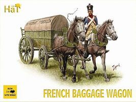Hat Napoleonic Baggage Wagon Plastic Model Military Vehicle Kit 1/72 Scale #8106