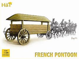 Hat French Pontoon Plastic Model Military Vehicle Kit 1/72 Scale #8108