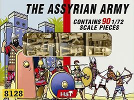 Hat Assyrian Allied/Auxiliary Plastic Model Military Figure Set 1/72 Scale #8121