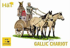 Hat Celtic Chariot Plastic Model Military Vehicle Kit 1/72 Scale #8139