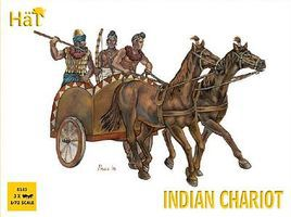 Hat Indian Chariot Plastic Model Military Vehicle Kit 1/72 Scale #8143