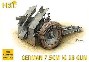 Hat WW-II Germans 75M IG18 Plastic Model Military Figure 1/72 Scale #8163