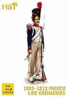 Hat French Line Grenadiers 1805 Plastic Model Military Figure Set 1/72 Scale #8166